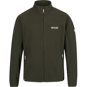 Regatta Stanner Fleece Jas Heren, dark khaki